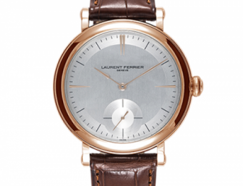 "Laurent Ferrier introduces the ""Montre École"""